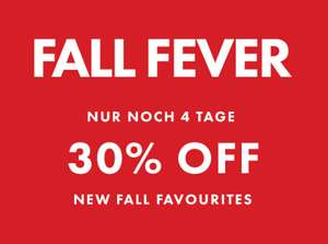 Fall Fever: 30% Rabatt auf Herbstfavouriten bei WE Fashion