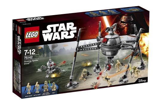 LEGO Star Wars - 75142 Homing Spider Droid für 29,98€ bei Abholung @ [ToysRUs] + gratis General Figur - dann mit VSK 32,93€