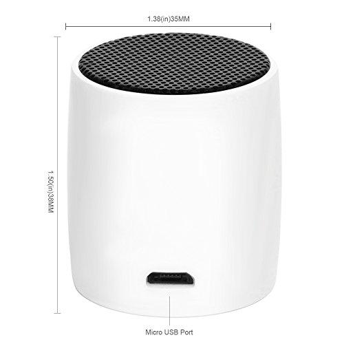 [Amazon] Mini Bluetooth Lautsprecher weiss für 8,49€, blau für 6,21€(Prime)