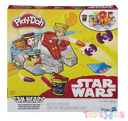 Play Doh Star Wars Millennium Falcon für 8€ bei Abholung @ [ToysRUs] statt ca. 18€