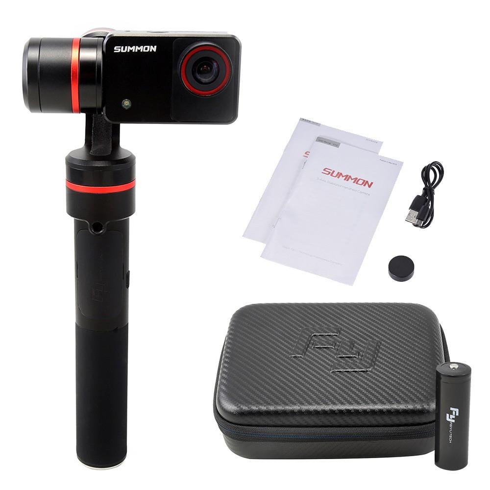 4K, 1080P, 60FPS, 16MP Panorama Action Kamera mit 3-Achsen-Stabilisierung für 302,39€