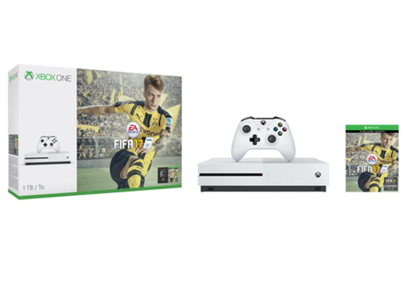 ( Schweiz ) XBox One S 1TB + FIFA 17 bei Fust bei Marktabholung für 267,- Euro