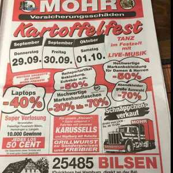 [Lokal] Bilsen Mohr ( Bananenwilli ) Freibier bis 1.10