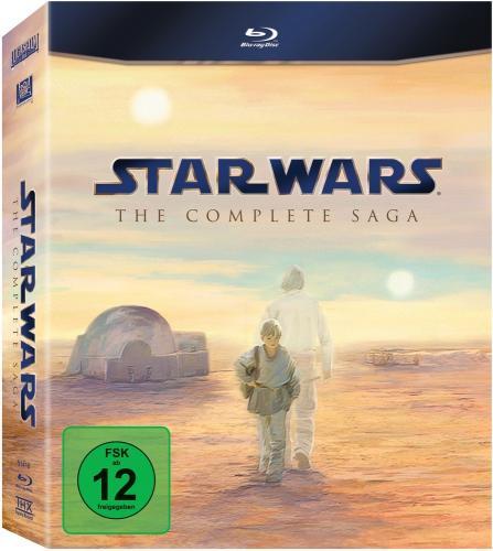Star Wars Complete Saga [Blu-Ray] für 70,04 Euro
