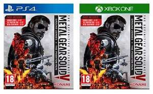 (Base.com) Metal Gear Solid 5: The Definitive Experience (PS4/Xbox One) für 29,95