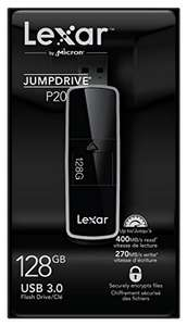 Lexar 128GB JumpDrive P20 USB 3.0 Flash Drive Memory Stick bei Amazon.de