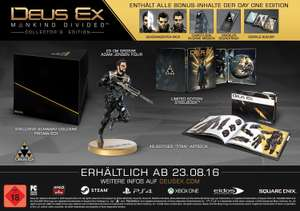 Deus Ex: Mankind Divided - Collectorx27s Edition PS4 - 62,99 € inkl. VSK TOP