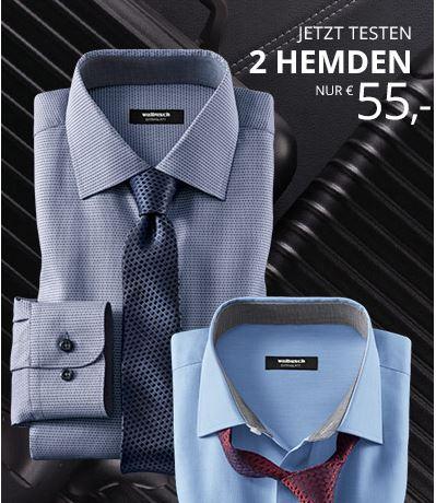 Zwei Hemden zum Preis von einem