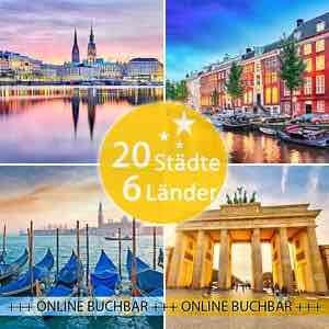 [eBay] 3 Tage - 20 Städte - 6 Länder: Amsterdam, Kopenhagen, Hamburg, Venedig...