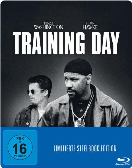 Training Day - Blu-ray Steelbook Edition - 5 Euro inklusive Versand [saturn.de]