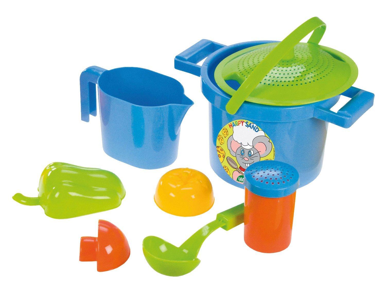 8 teiliges Set Sandspielzeug zum Thema kochen für 3,89 € als Amazon plus Produkt