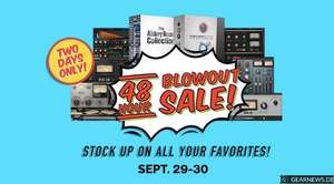 Waves Blowout sale bis zu 80% Rabatt auf Plugins
