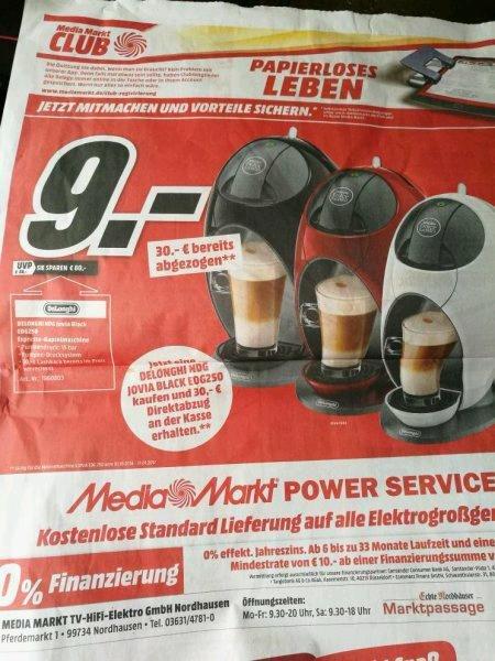 [Lokal? MM Nordhausen] DELONGHI Dolce Gusto NDG Jovia Black EDG250 Espresso-Kapselmaschine