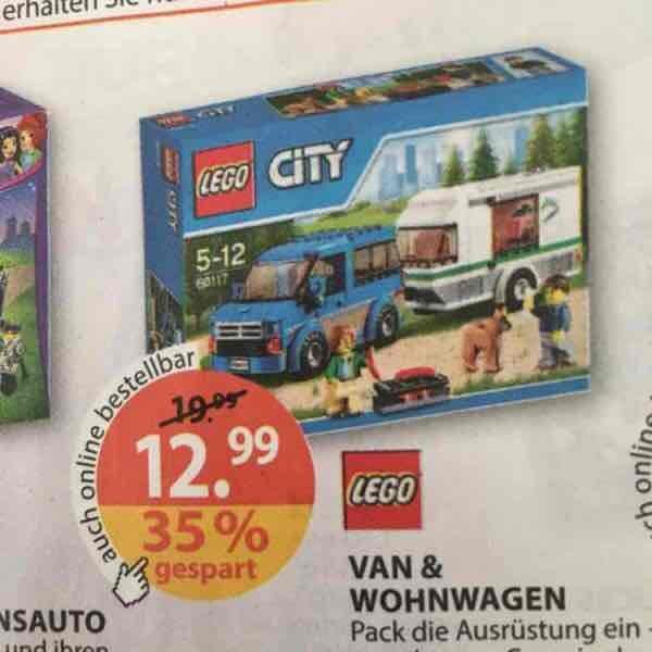 (Müller) Lego 60117 - Van & Wohnwagen für 12,99€