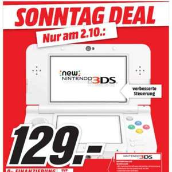 Nintendo New 3DS (lokal Papenburg)