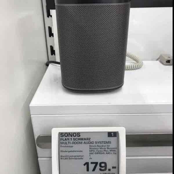 [Lokal Berlin] Saturn im Alexa - Sonos Play:1