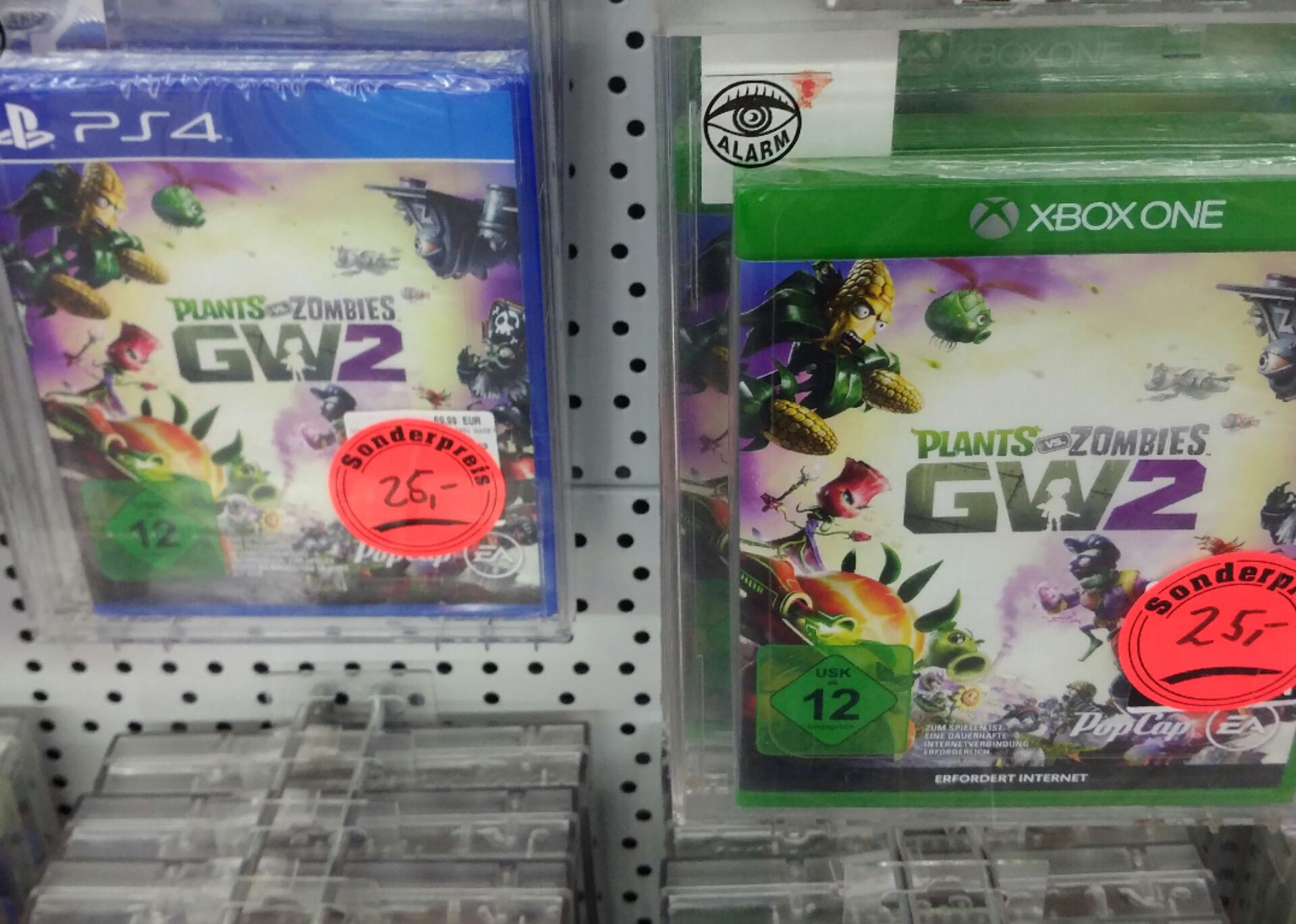 Plants vs Zombies GW2 und Mirrors Edge Catalyst für ps4 und Xbox one [Saturn Dortmund]
