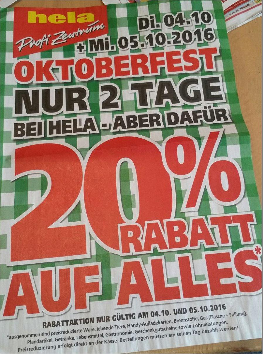 [ LOCAL ] hela Profi Zentrum Saarbrücken - 20% Rabatt auf alles*