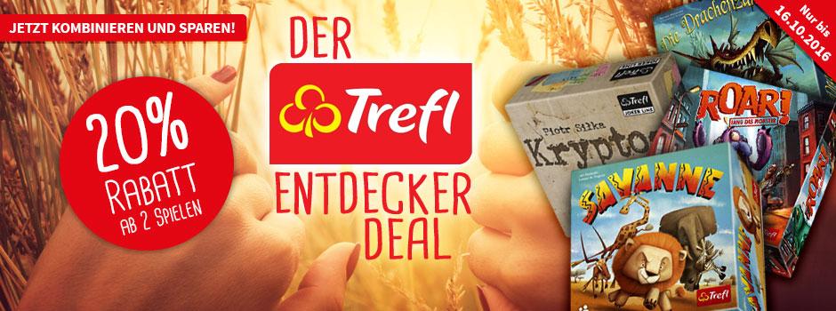 [Spiele-Offensive] ab 2 Spielen der Firma Trefl 20% Rabatt (VSK-frei ab 25€)