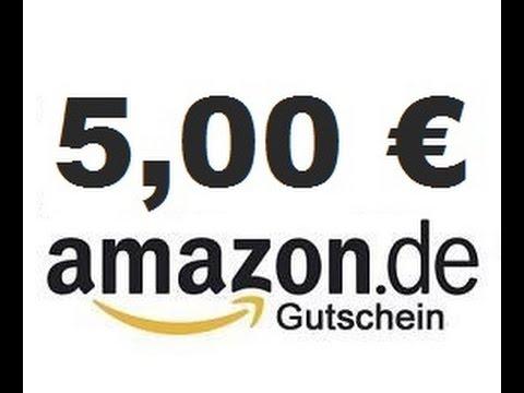 Amazon Konto für EUR 100,-  aufladen und EUR 5,- Gutschein gratis dazu