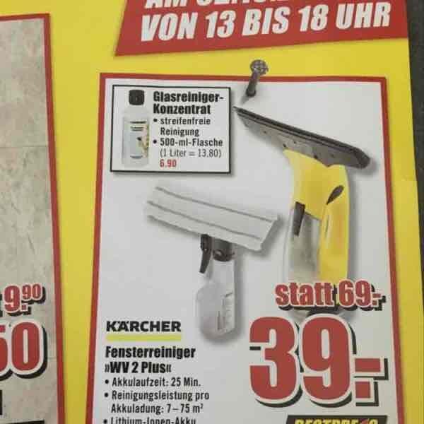 Kärcher Fensterreiniger VW 2 Plus lokal B1 Dinslaken