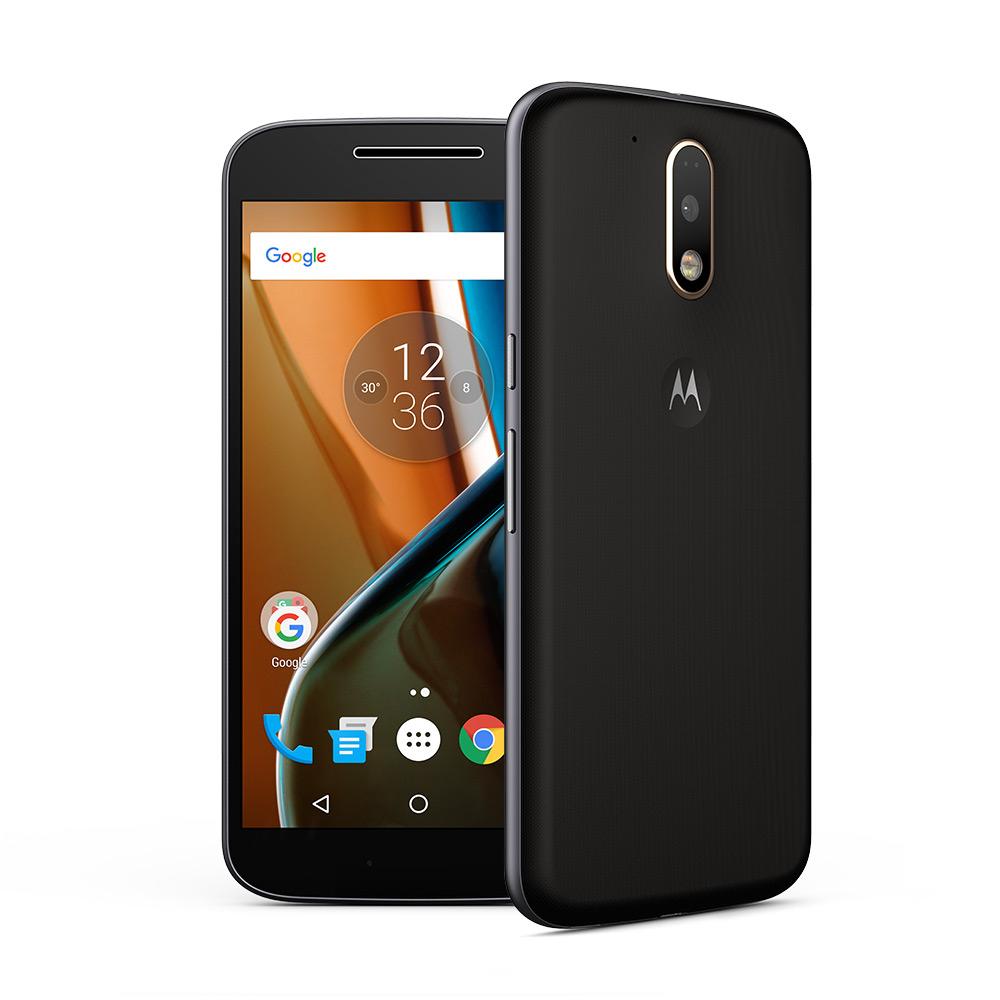 """Lenovo Moto G (4. Gen = G4) [ 5,5"""" Full-HD Display, Android 6.0.1, Dual Sim, LTE, 1.5 GHz Octa-Core CPU, 13MP Kamera] in weiß oder schwarz für 169 € > [ebay - Mediamarkt]"""