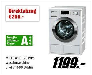 [MediaMarkt] Bis zu 500€ Direktabzug auf Waschmaschinen und Trockner - Unser langes Wäsche-Wochenende