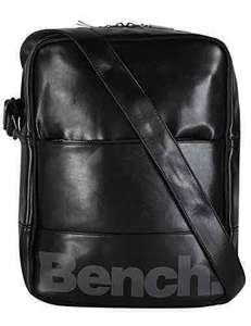 [amazon] Bench Unisex Umhängetasche, jet black, 26 x 11 x 35 cm, 10 liters