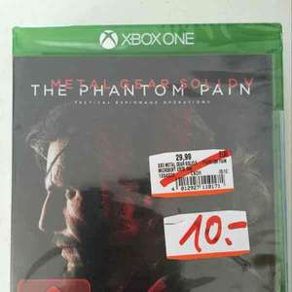 Lokal MM Baden-Baden, Metal Gear Solid V - The Phantom Pain Xbox One