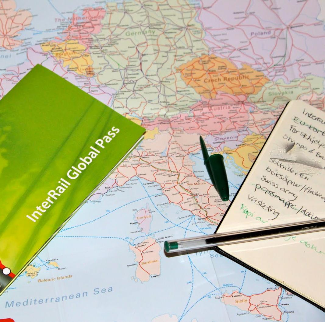 Europa 15% günstiger mit dem Zug erfahren - InterRail Herbstrabatt
