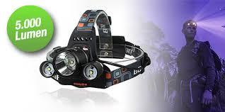 LED-Kopfscheinwerfer mit 3 Leuchten