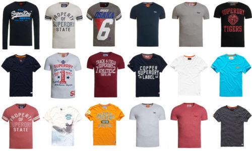 Ebay - Herren Superdry T-Shirts Versch. Modelle und Farben