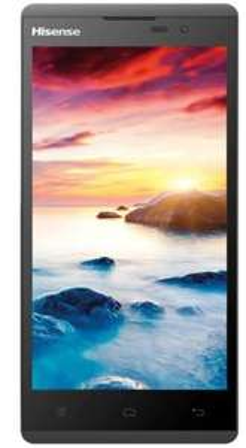 Hisense Sero 5 L691 Smartphone (5 Zoll) Display, 8 Megapixel Kamera) schwarz