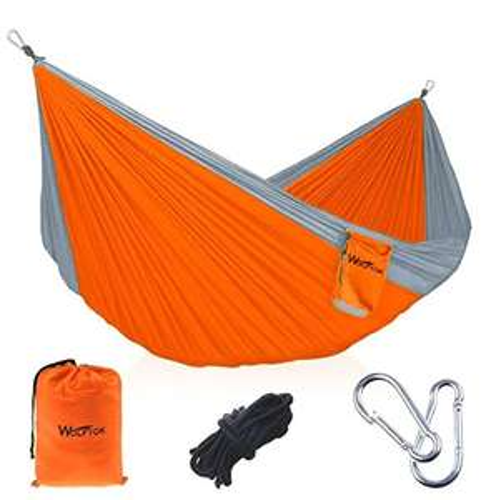 Camping Hängematte, 290 x 140cm (amazon Prime)