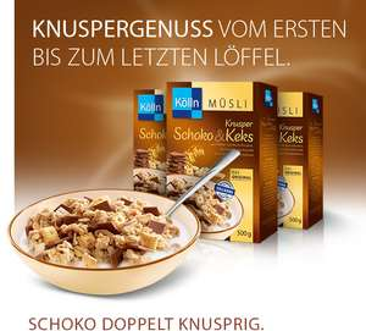 Kölln Müsli (500/600 g) zum Spitzenpreis von 1,88 EUR bei Müller