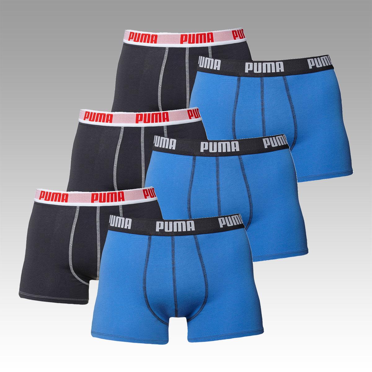 Puma Boxershorts im 6er Pack für 29,95 € *wieder da*