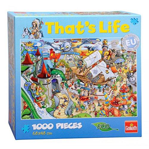 [Amazon Prime] Goliath 71312006 - Thatx27s Life Puzzle mit 1000 Teilen - Freizeitpark für 3,99€