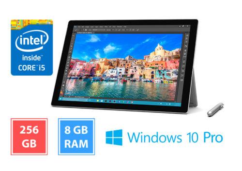 Microsoft Surface Pro 4 mit 8 GB RAM, 256 GB SSD, Intel Core i5, Win 10 Pro WOW Deal für 1099 €