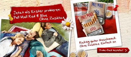 PALL MALL: wieder gratis Zigaretten