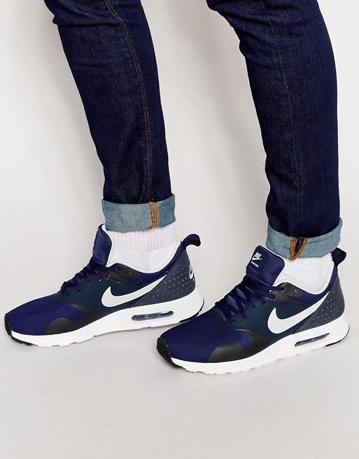 Asos Sale Nike Air Max Tavas Navy / Dunkelblau / Weiß - ( Gr. 38.5 - 48.5 ) @asos