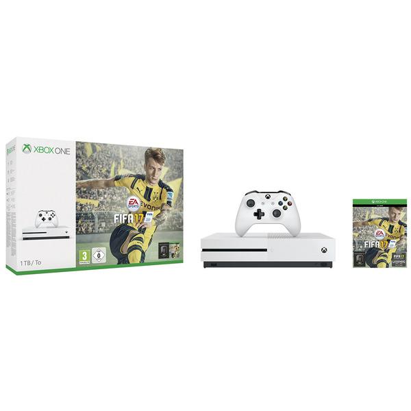 Xbox One S 1tb + Fifa 17 für 326,79EUR ohne Versandkosten
