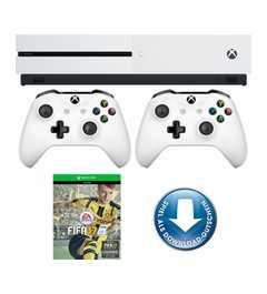 MICROSOFT Xbox One S 500GB Konsole + FIFA 17 + 2. Controller für 314,99€ (+5,95€ Versand) (Neukunden 293,49 inkl. Versand)[Otto]