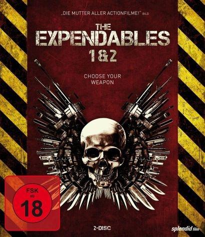 (Buecher.de) The Expendables 1 & 2 (2 Blu-ray Discs, Steelbook) für 8,49€