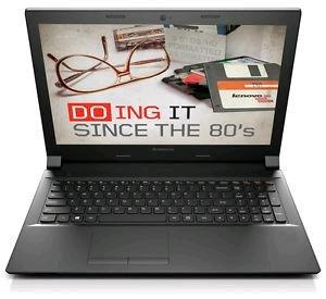 Lenovo B50-45 Notebook A6-6310 Quad-Core HD matt Windows 10