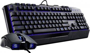 CoolerMaster Devastator II Tastatur & Maus Set, LED Hintergrundbeleuchtung, Mem-chanical Schalter, Lasergravierte Tasten für 28,78 € (Voelkner)