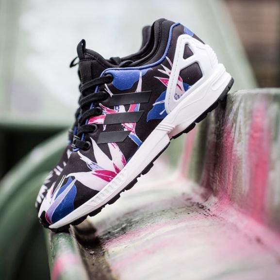 adidas Originals ZX Flux NPS Sneaker Schwarz B34467