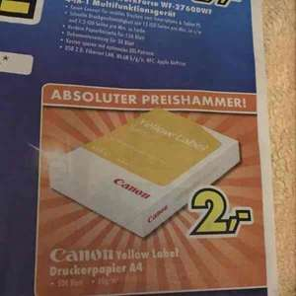 [Lokal Burghaun/Bad Hersfeld] Kopierpapier - 500 Blatt, 80 gr