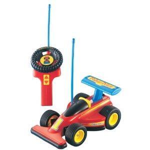 Mattel 72825 - Fisher-Price RC Formel 1 Junior Fernlenkflitzer für 22,38 € @ Amazon