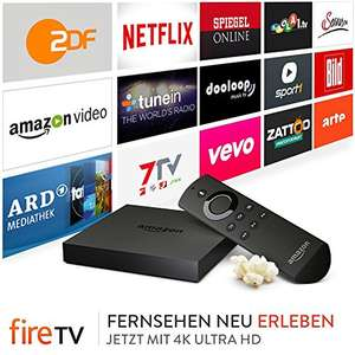 Amazon Fire TV 4K Ultra HD 15 € Rabatt