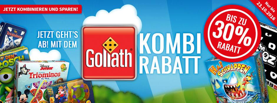 [Spiele-Offensive] Goliath Spiele 30%-Rabatt bei Kauf von 3 Spielen